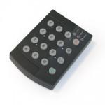KPA-15 Trådløst Tastatur bruges ved adgangsvejen eller som forbikobler. vare nr. 3261008