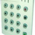 KPA-15 Trådløst Tastatur bruges ved adgangsvej eller som forbikobler vare nr. 3261022